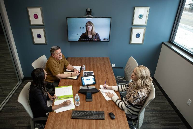 >Video Conferencing Design and Installation - photo